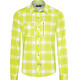 Bergans Jondal Shirt LS Men Spring Leaves/White Check